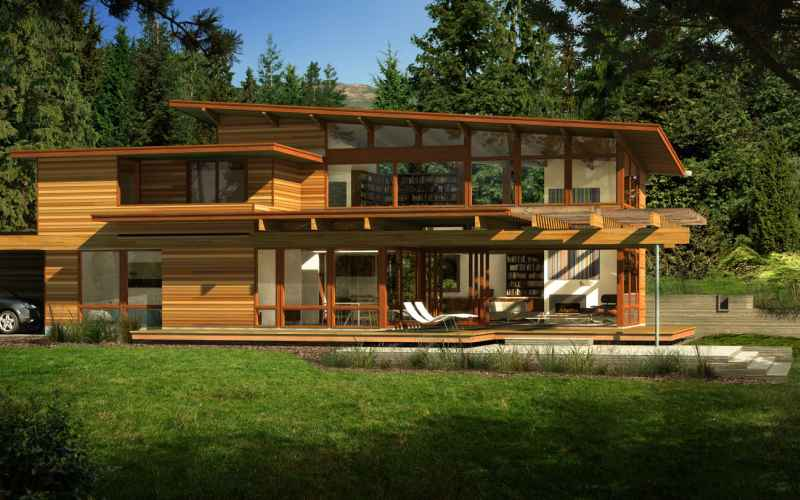 Deltec Homes Gorgeous Green Homes From Turkel & Lindal Cedar Homes