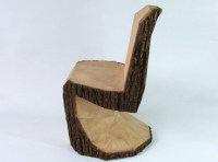Arbor Chair is a Rustic Interpretation of the Panton Chair ...