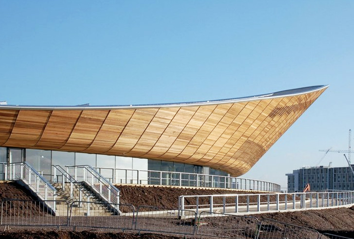Avocado Boom London's 2012 Olympic Velodrome Is An Elegant Energy