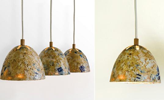 Kulla Studio Sawdust Lamp Process Inhabitat Green