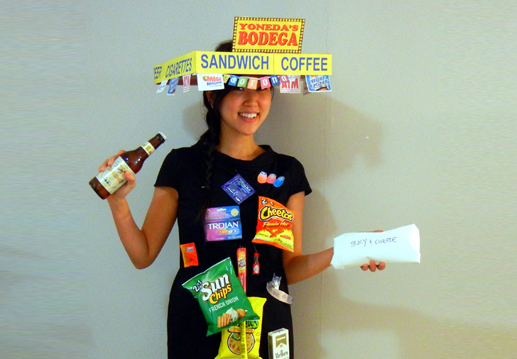 Diy How To Make A Bodacious Bodega Costume For Halloween