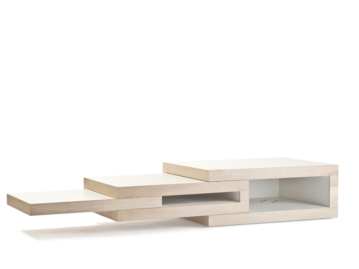 Couchtisch Oval Mit Ablageboden The Rek Modular Table Transforms To Fit Any Interior