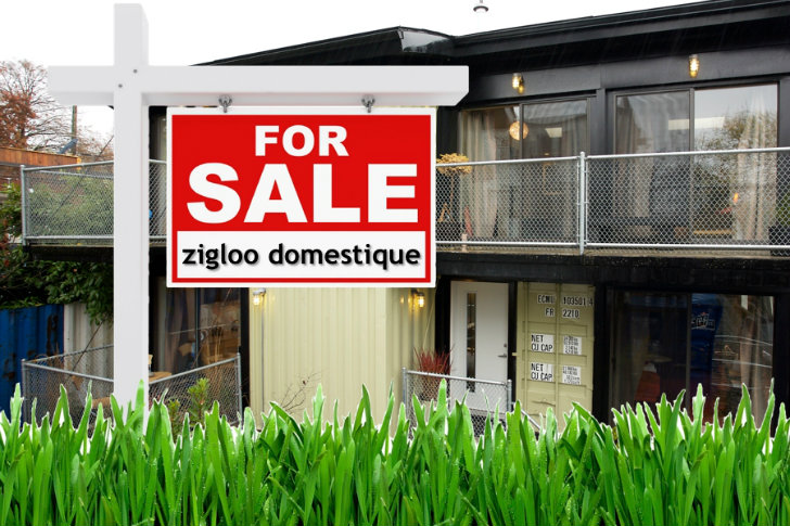 Zigloo Domestique Shipping Container House Is Up For Sale