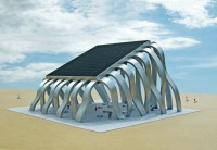 Michael Jantzen's Solar Eclipse Pavilion is a Public ...