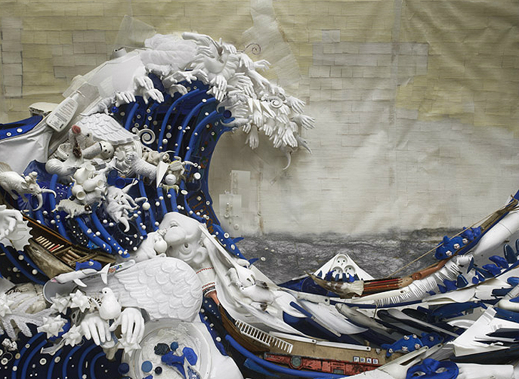 Bernard Pras Recreates Masterpieces Entirely From Recycled