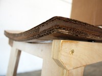 Will Holman Creates Molded Cardboard Chair Inspired by Mid ...