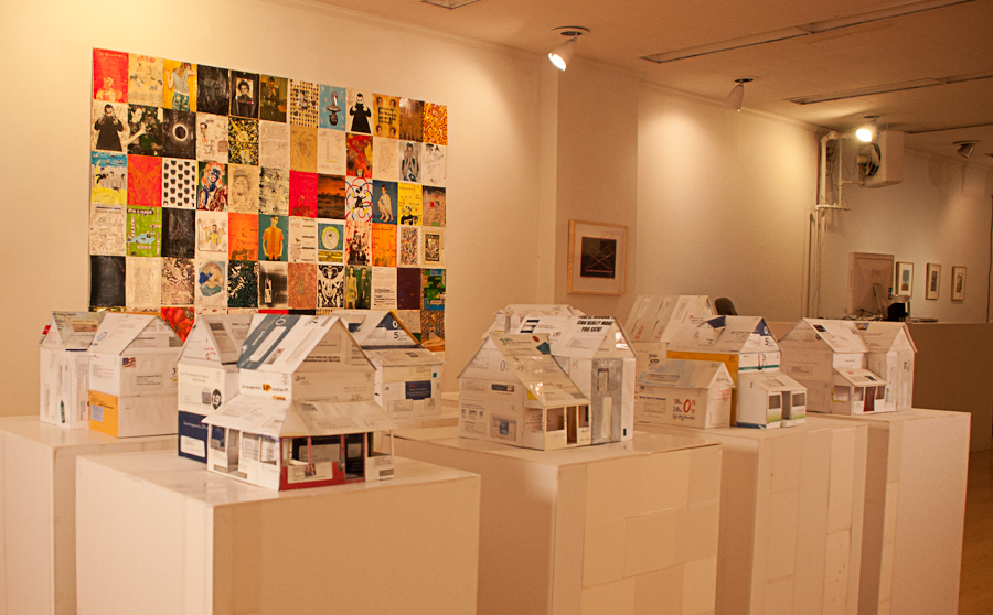Jeremiah Johnsonu0027s Dollhouses Made from Credit Card Applications - home design credit card