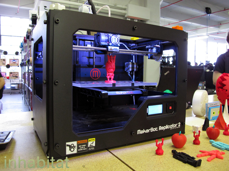 3d Wallpaper Printing Machine Makerbot Acquired By 3d Printing Company Stratasys In 403