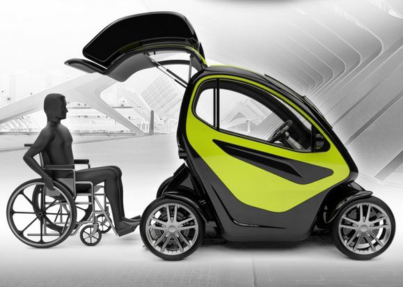 Deltec Homes Equal: A Compact Electric Vehicle Specially Designed For