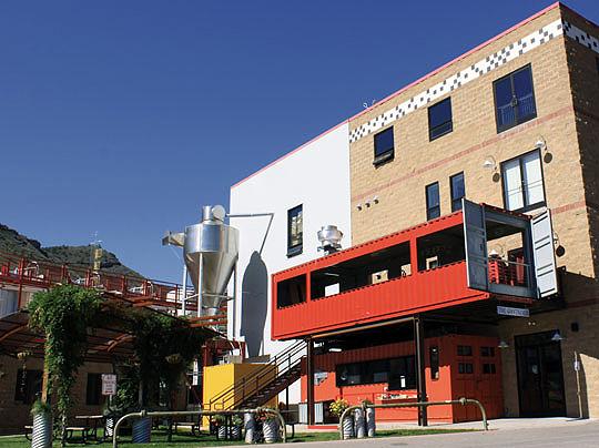 Shipping Container Restaurant Inhabitat Green Design