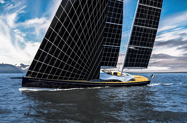 Solar Kiel Helios Concept Yacht Harvests Solar Power To Explore The