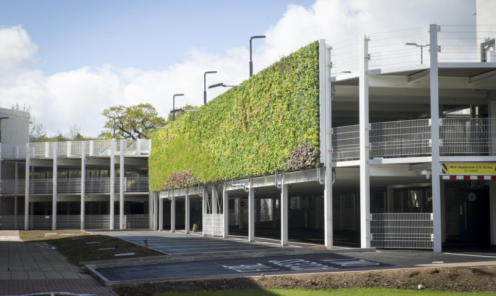 National Grid Unveils Europe39s Largest Living Wall