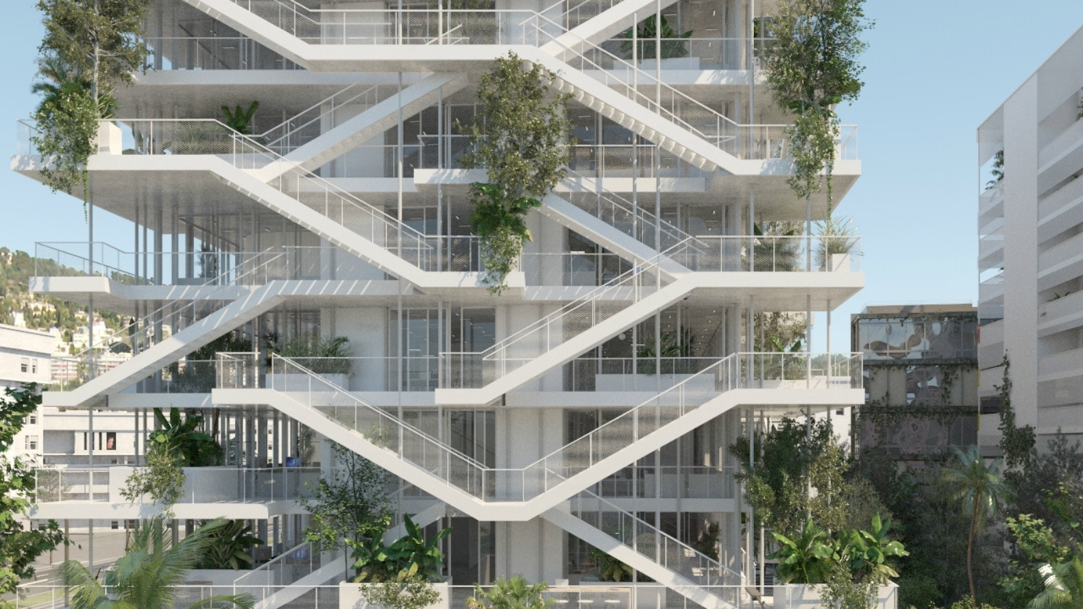 Architectural Design Of Residential Building French Architects Unveil Plans For Bio Climatic Inside Out
