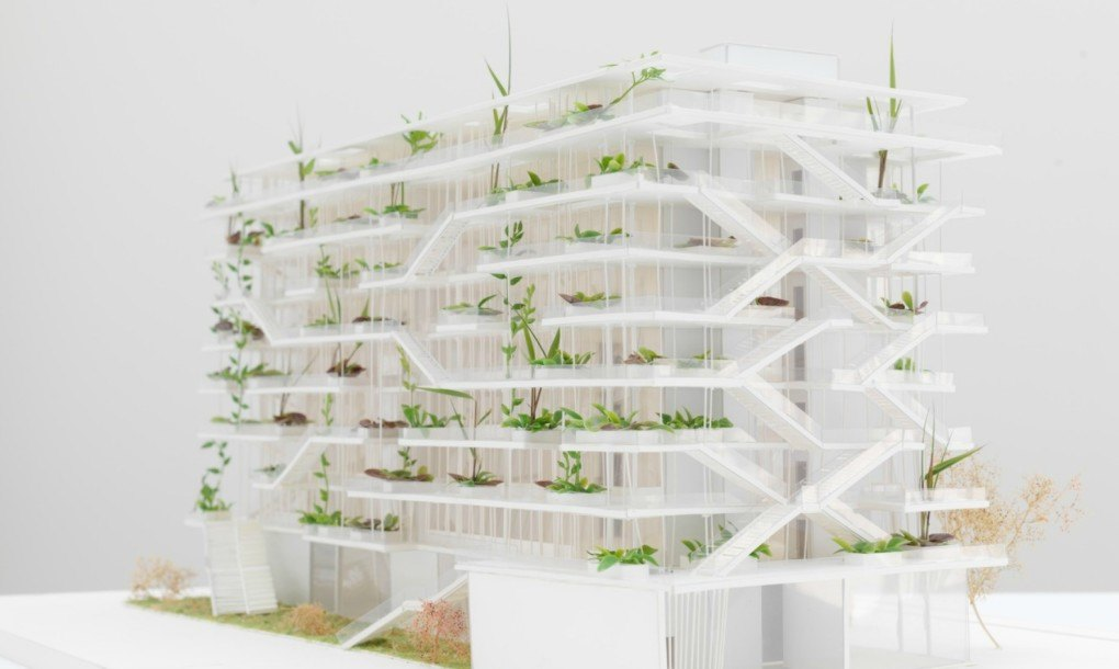 Square Habitat Lyon 7 French Architects Unveil Plans For Bio-climatic 'inside