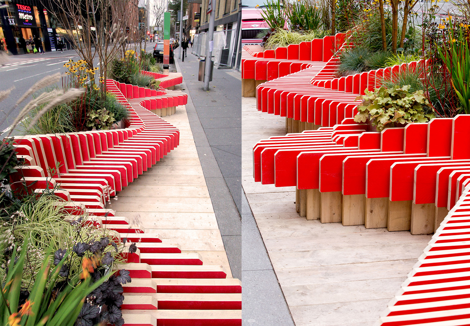 Portable Parkedbench Parklet Injects A Breath Of Fresh Air