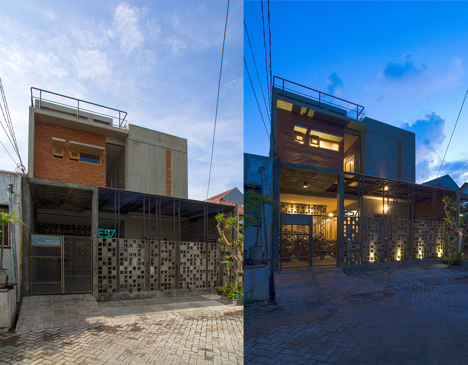 Maison Cool Bioclimatic Boarding House Keeps Naturally Cool In Tropical Indonesia