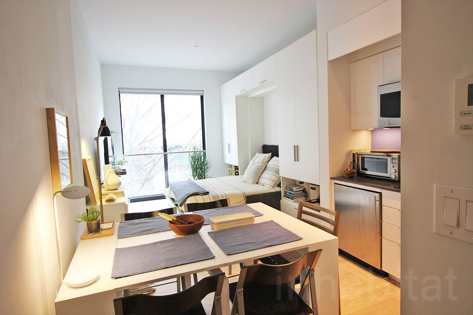 Small Nyc Apartment Design Nyc 39s First Micro Apartment Units Near Completion At