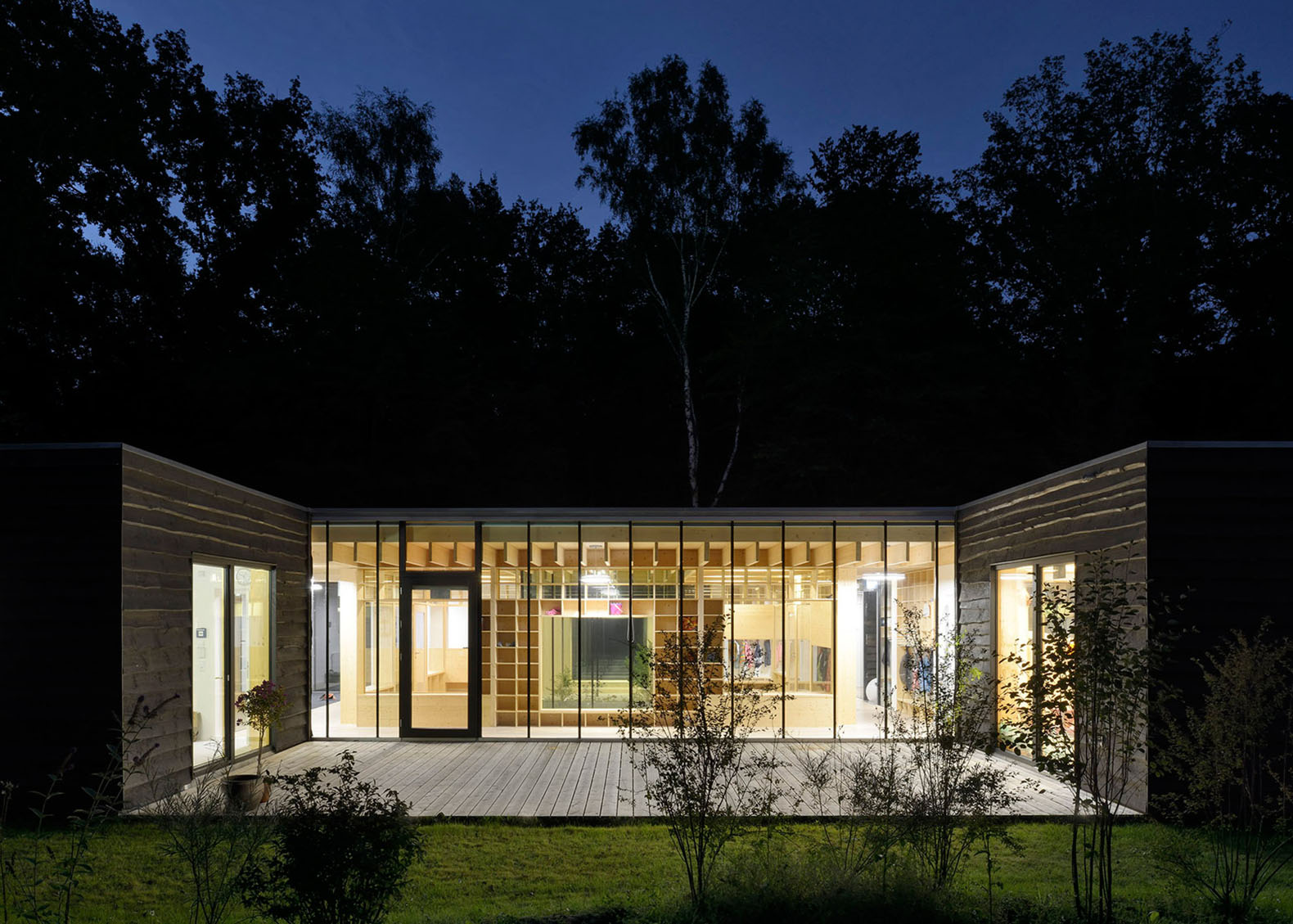 Kita Küche Architektur Small Woodland Nursery In Germany Has A Light Filled