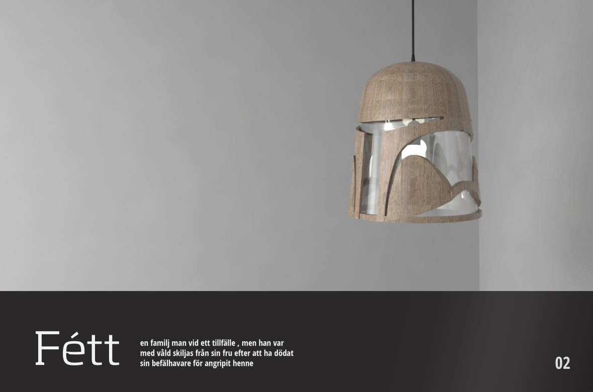 Franchise Ikea Eyal Rosenthal Fuses Star Wars Memorabilia And Swedish