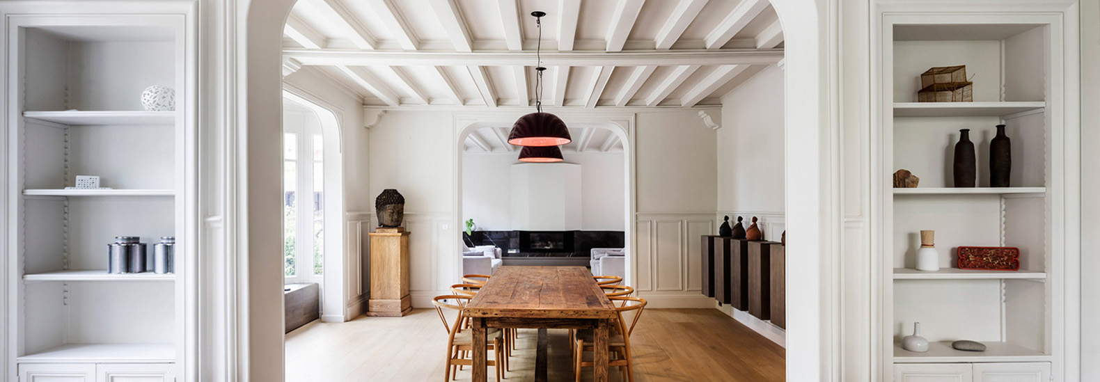 Renovation Maison 1930 Renovated 19th Century Mansion Near Paris Becomes A Modern