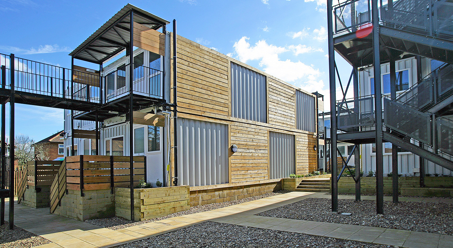 Container Haus London Affordable Housing