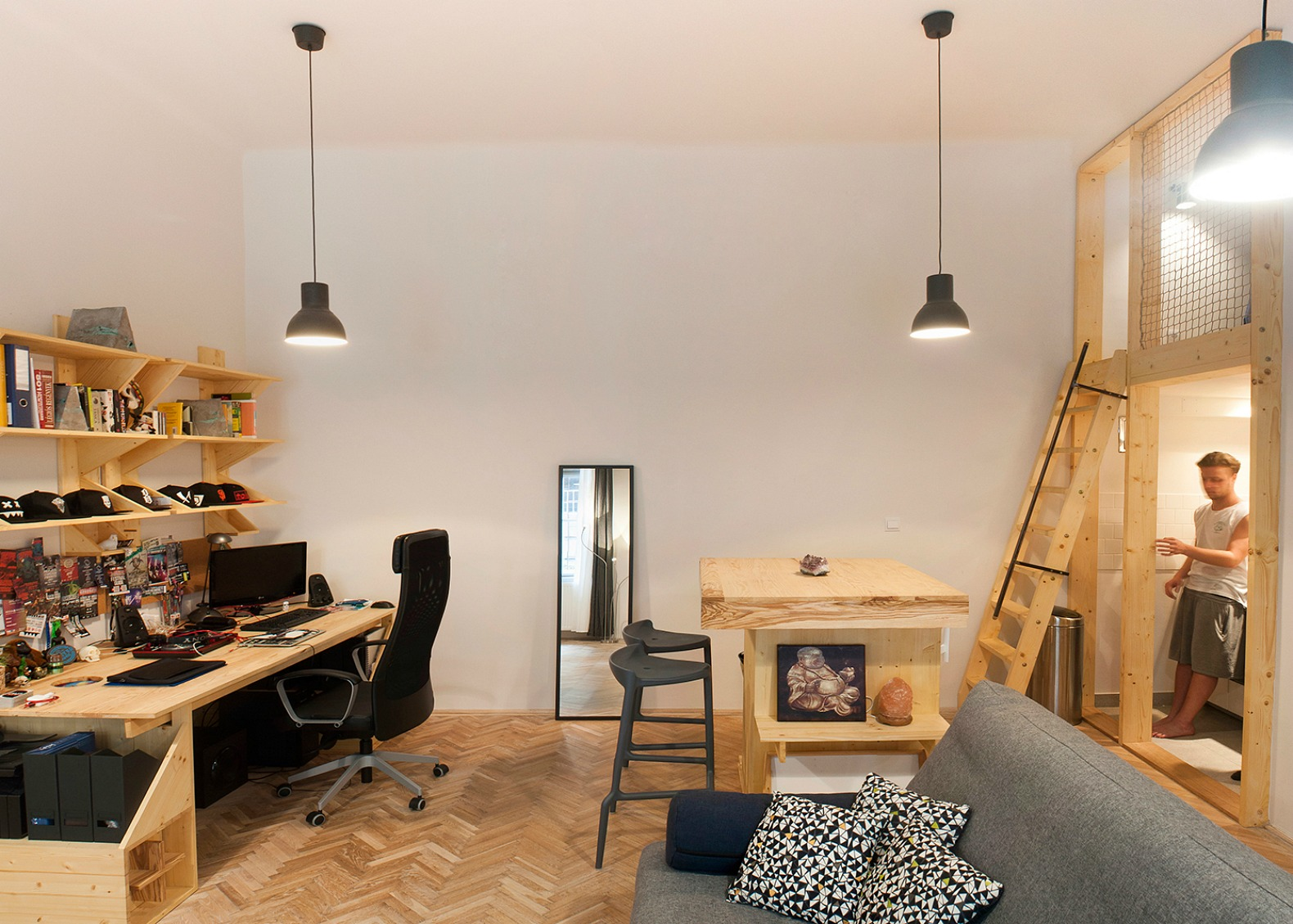 Micro Studio Apartments Cool Micro Studio In Budapest Makes The Most Out Of 344