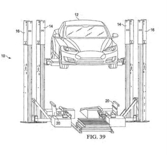 tesla electric car engine diagram