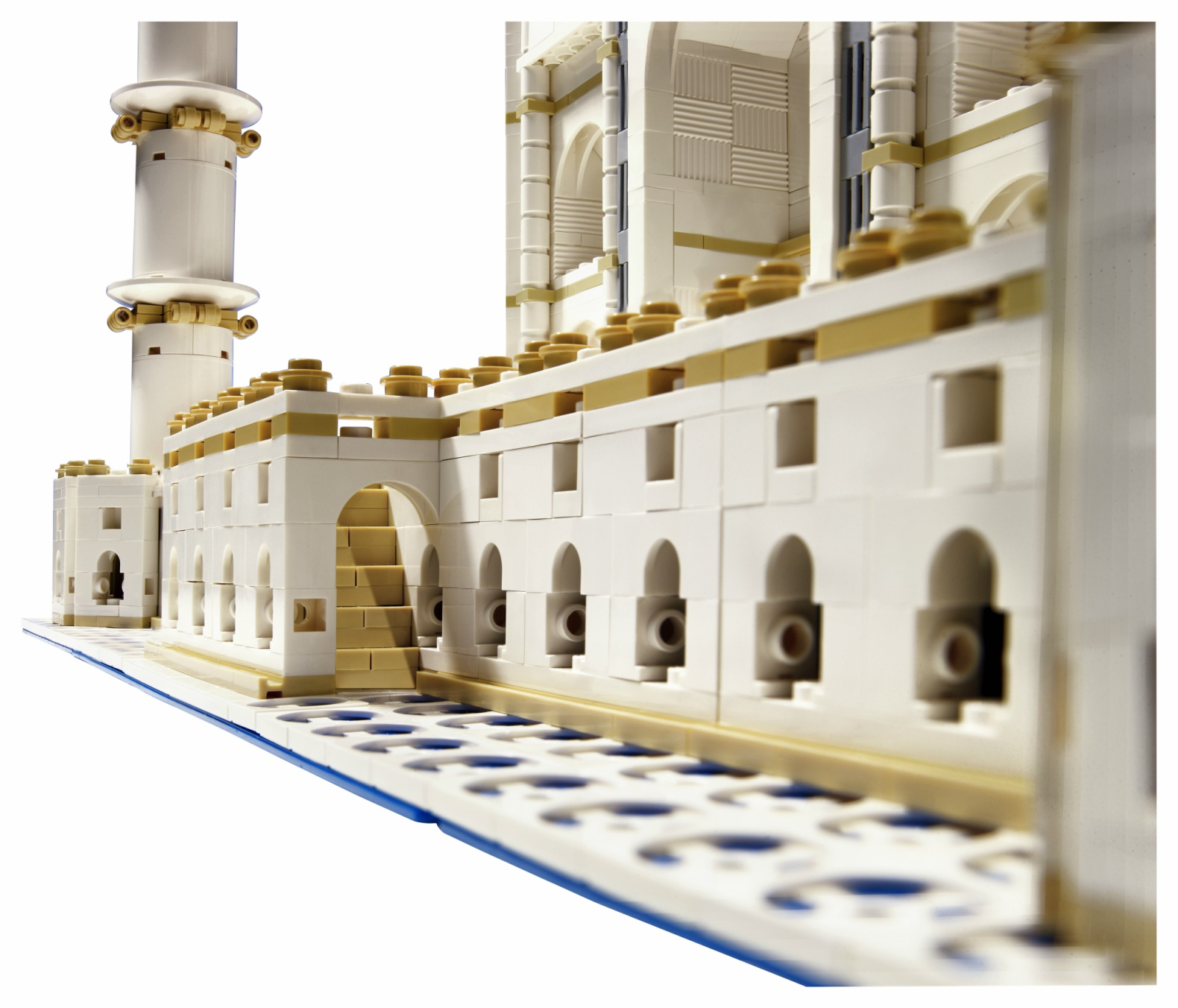Frank Lloyd Wright Model Kits Lego Relaunches Its Beloved Taj Mahal Model With Almost