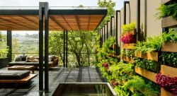 Small Of Backyard Vertical Garden