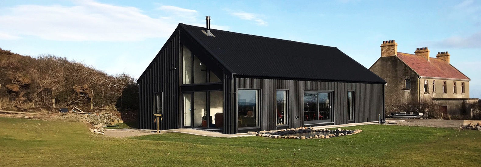 Container Haus Irland Metal Clad Eco Cottage Puts A Modern Spin On Irish Rural Architecture