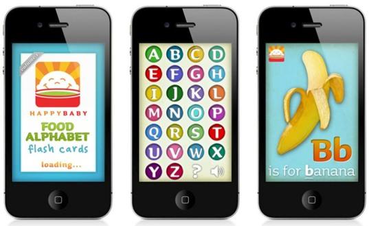 Free First Alphabet Flash Cards iPhone App Inhabitots