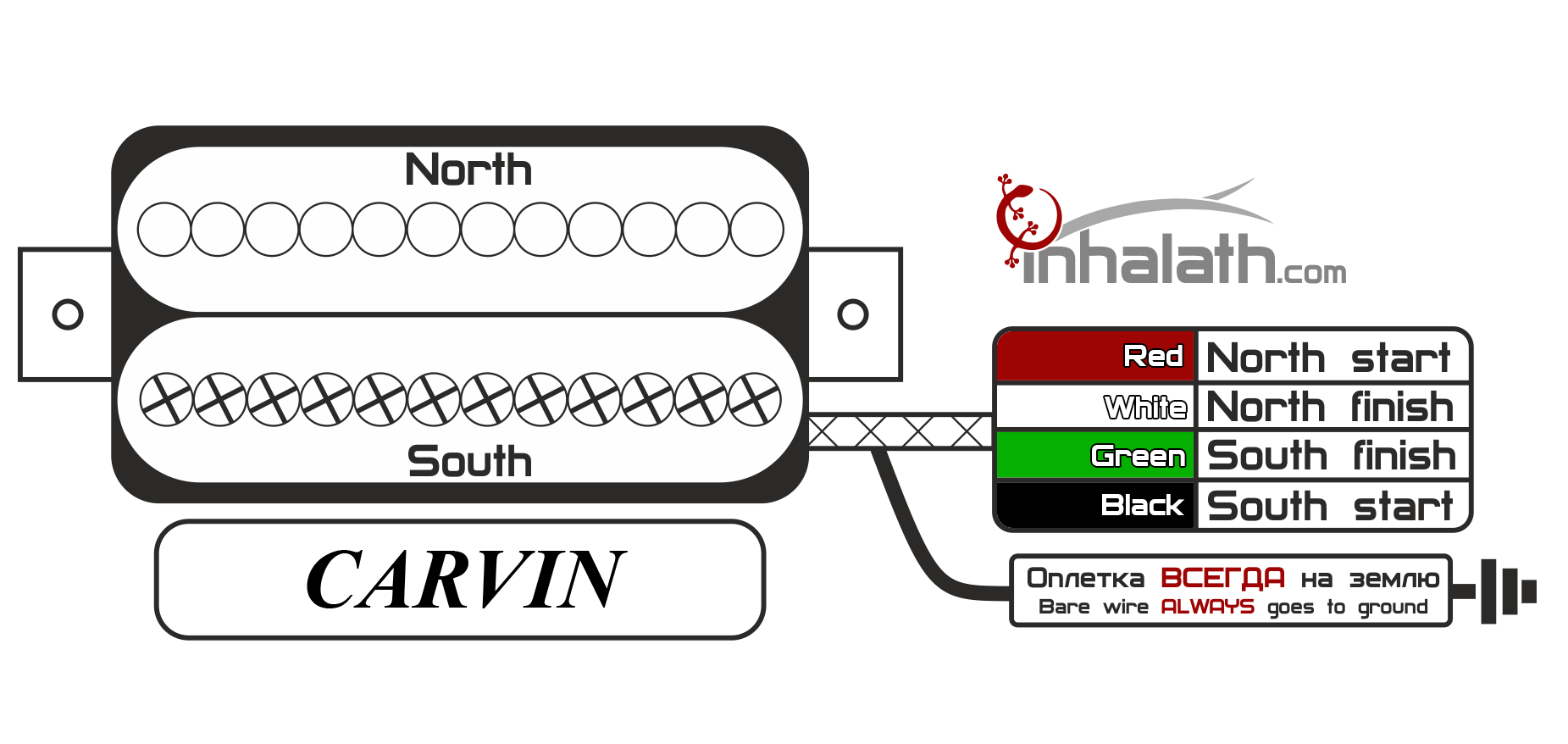 carvin pro bass ii schematic
