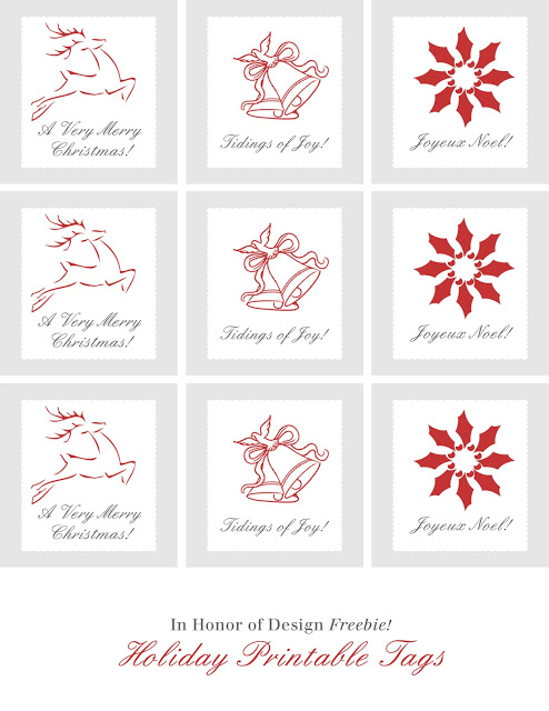 DIY Gift Tags Free Printable Gift Tags In Honor Of Design