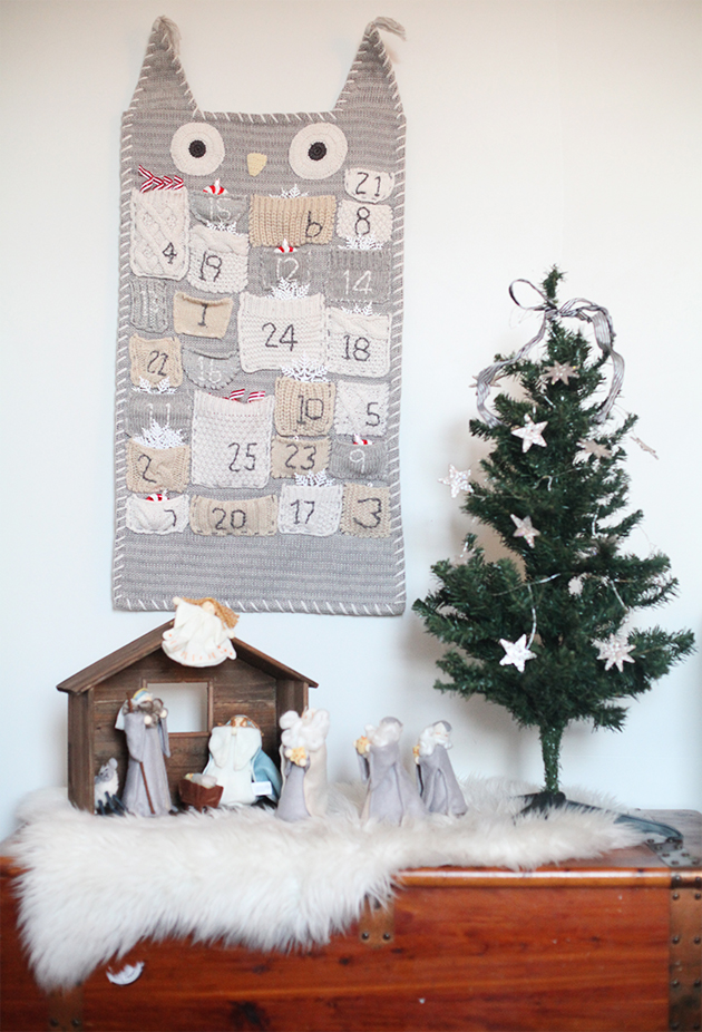 Costco Sheepskin Rug A Christmas Tour Around Our Home. | In Honor Of Design