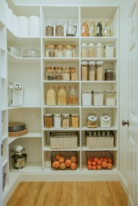 Laundry Room to Walk-in Pantry Reveal | In Honor Of Design