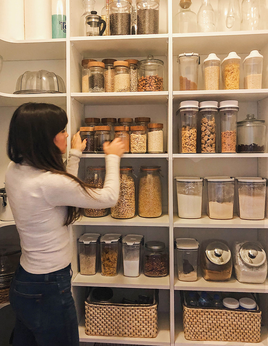 Pantry Organization Pantry Organization Grocery Planning In Honor Of Design