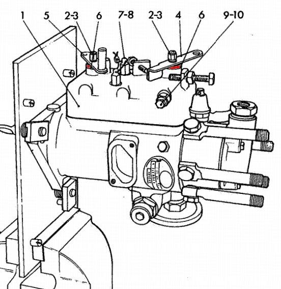 lucas injector pump diagram