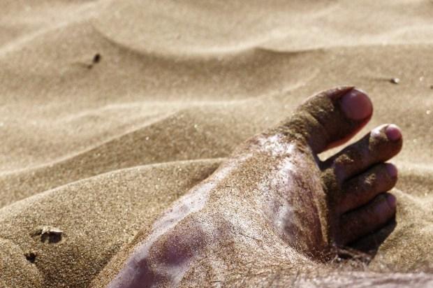 Fuss im Sand (Kihei, HI)