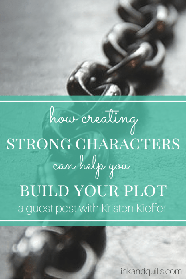 Learn how strong #characters and your #plot go hand in hand! Plus, a free workbook!