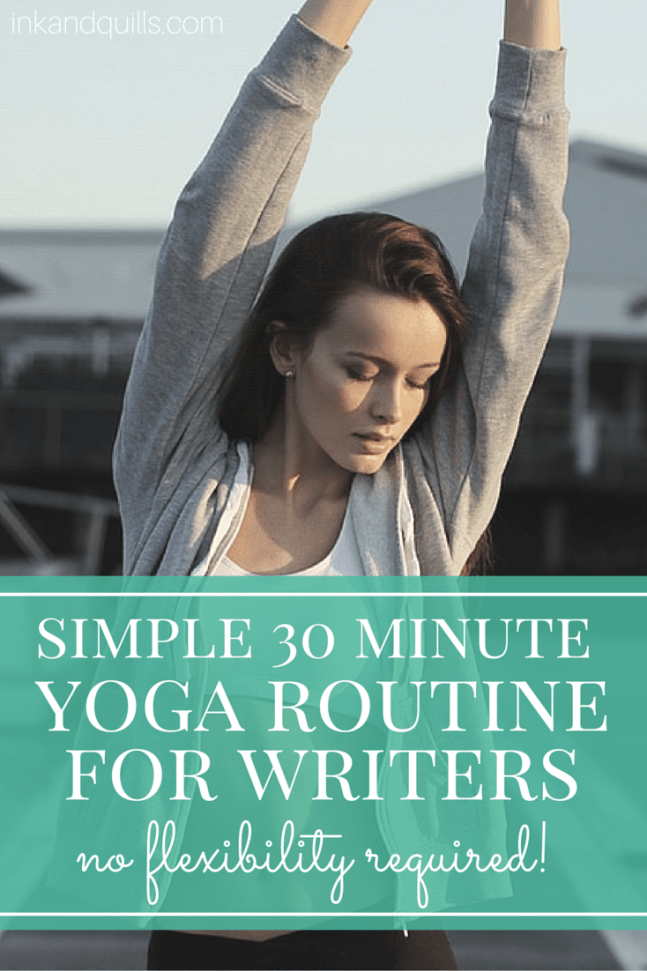 simple yoga routine for writers