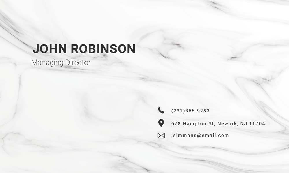 Modern Business Card Design Tips  Free Template Download