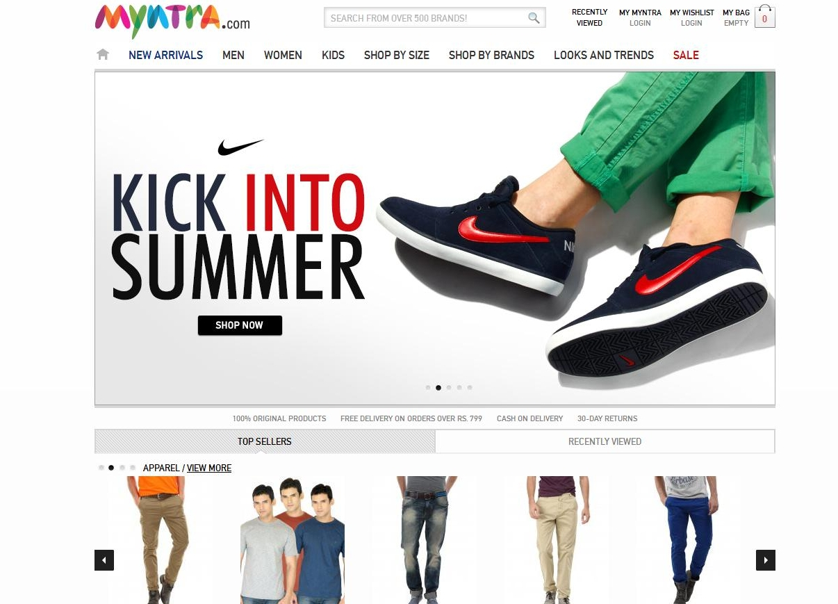 In Shop Online Store Top 10 Online Shopping Websites In India 2013