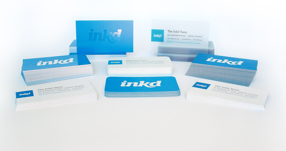 Online Business Card Printing Services Inkd