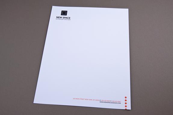 Interior Design Letterhead Template Inkd