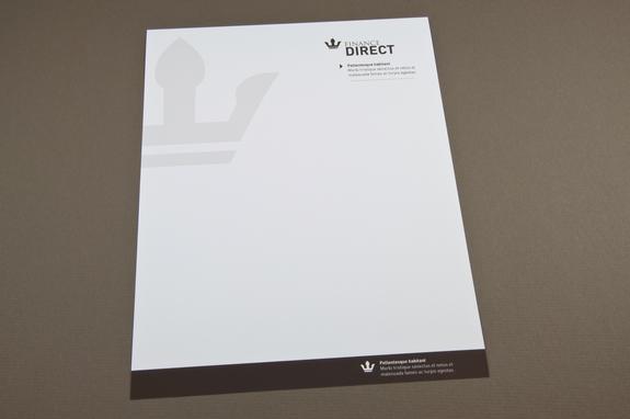 Finance Company Letterhead Template Inkd