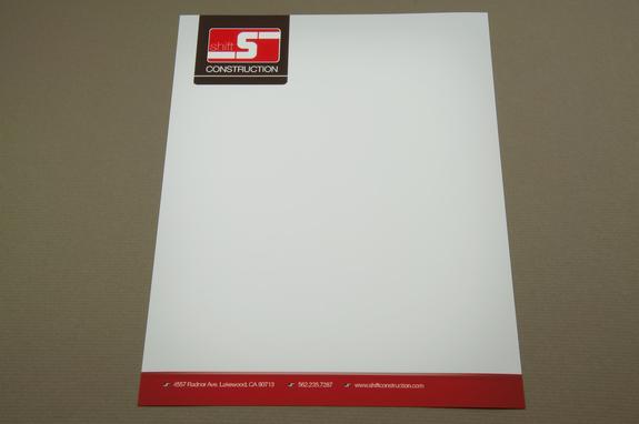 Construction Company Letterhead Template Inkd