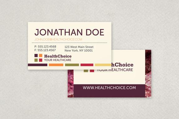 Healthcare Business Card Template Inkd - medical business card templates