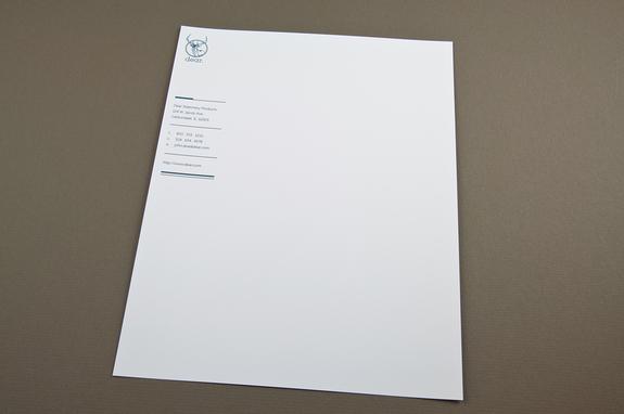 Contemporary Stationery Letterhead Template Inkd