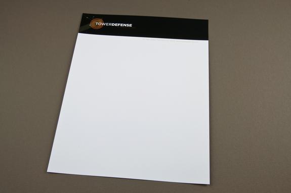 Contemporary Technology Letterhead Template Inkd