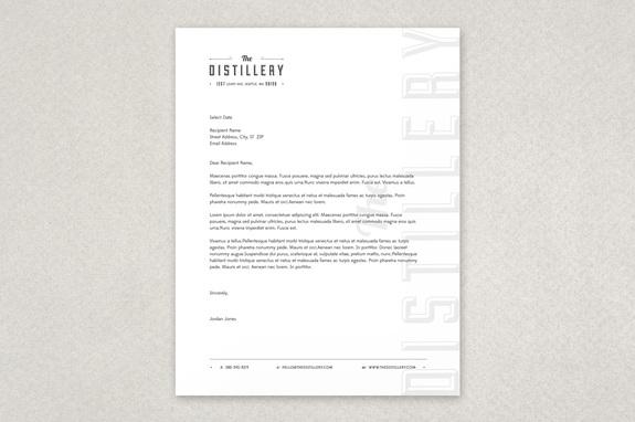 Free Letterhead Template - Free Letterhead templates Design Sample